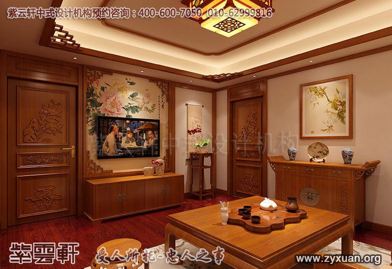 常州古典中式装修别墅设计