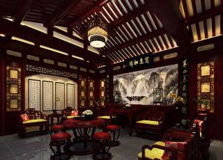 北京石景山四合院装修设计案例 深邃达观,宁静古雅