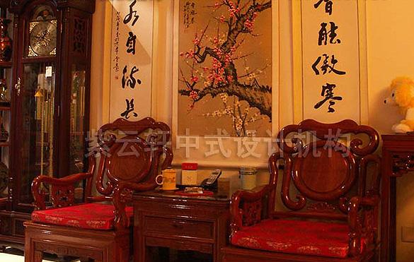 別墅中式裝修設計-自然雅致的中國風