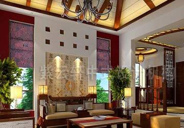 刘宅现代中式家庭装修风格案例赏析