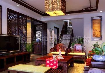 江南风格简约家庭中式装修图片