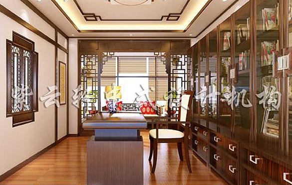 中式书房装修,中式书房设计
