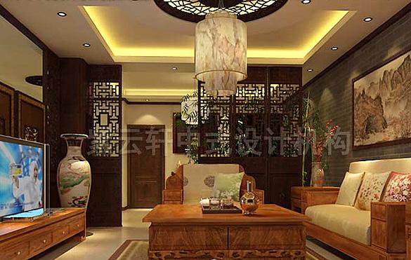 新中式风格别墅设计装修 时代背景下的传统风情