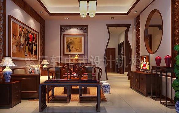 中式家装设计,装修,图片,效果图,简约中式家装 紫云轩中式家
