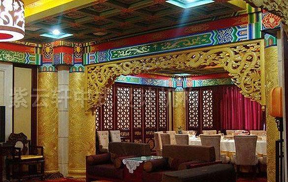 式装修,酒店中式设计,中式酒店装修效果图,酒店中式装修门头