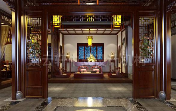 古典茶楼中式装修效果图