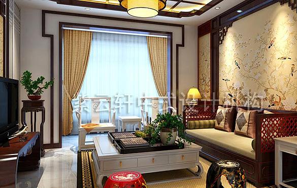 新中式风格别墅设计案例效果图赏析