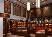 中式茶馆设计装修效果图图片