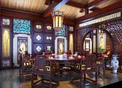 古典餐厅实例