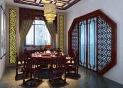 古典餐厅装修效果图