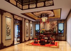 中式风格茶室实景图