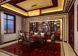 茶室中式图片