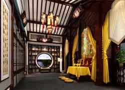 传统佛堂实景图