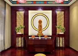 传统佛堂图片