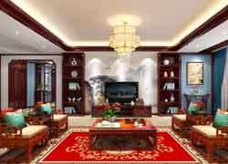 中式公寓装修实景图