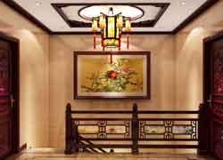 古典楼梯效果图