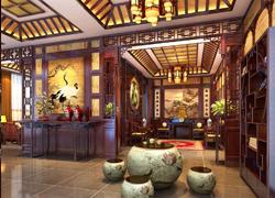传统门厅装饰图片