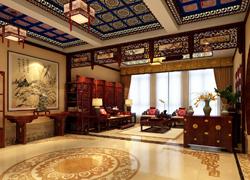 中式传统门厅实景图
