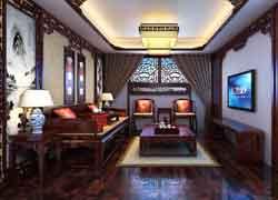 中式风格起居室设计图片