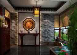 传统四合院装饰图片