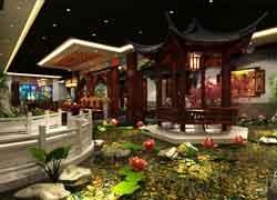 中式风格四合院装饰设计图