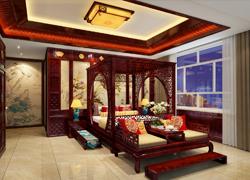 卧室古典图片