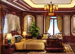 卧室古典效果图