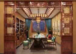 古典休闲室实景图