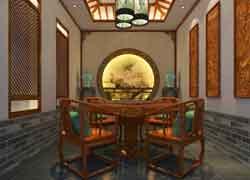 古典休闲室装修效果图
