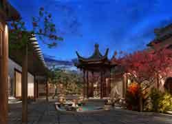 中式风格庄园装修